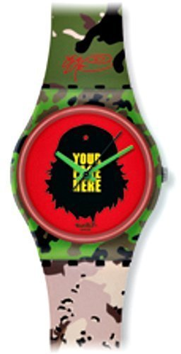 Swatch Tic Tic Boom Kidrobot Special Ladies Watch GB251