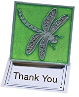 Green Dragonfly Clip Magnet