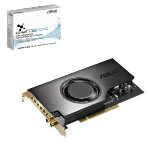 Asus Xonar D2 PCI Hi-End 7.1 Soundcard