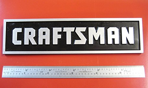 Sears Craftsman Tool Box Badge,Large: Chest/Cabinet,Emblem,Decal,Sticker,Logo, NK (Snow Blower Chute Angle compare prices)