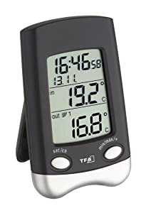 TFA Dostmann 30.3016.01 Wave Thermomètre radio