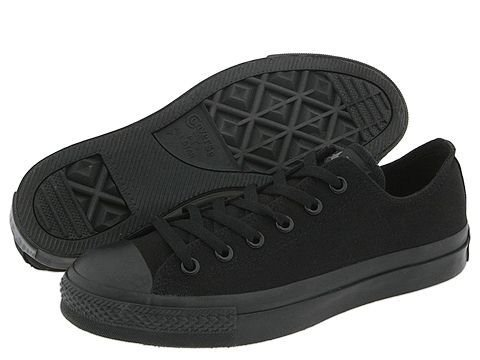 Buy Converse Chuck Taylor All Star Shoes (M5039) Low Top Black Monochrome