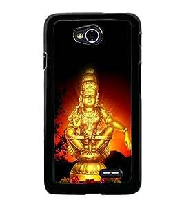 Lord Ayyappa 2D Hard Polycarbonate Designer Back Case Cover for LG L70