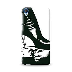Warner Bros Catwoman(Batman)-Heels Back Cover for HTC Desire 820 (Multicolor)