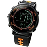 [Lad Weather] Swiss Sensor Running Chronograph Outdoor Digital Compass Altimeter Sports Watches Weather Forecast Climbing Walking Barometer Thermometer Men's