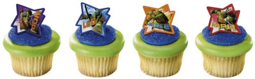 Read About Teenage Mutant Ninja Turtles - Tmnt Cupcake Rings (12)