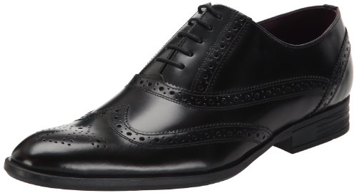 Hush Puppies Men's Fenchurch Lace-Up Noir (Blk Polished Lea) 6 UK