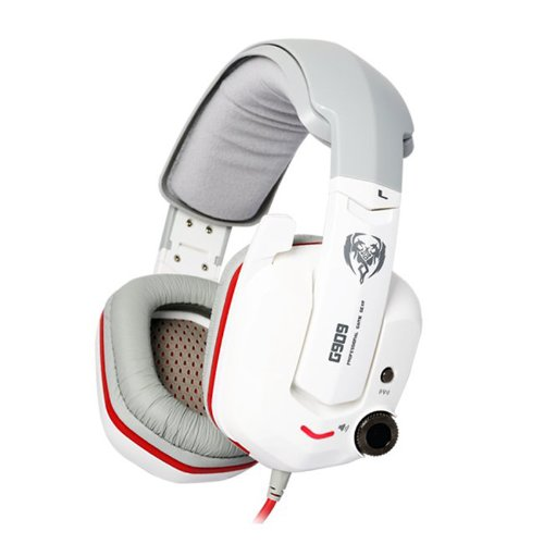 Fome Somic G909 7.1 Surround Vib Bass Gaming Headset Headphones White + Fome Gift