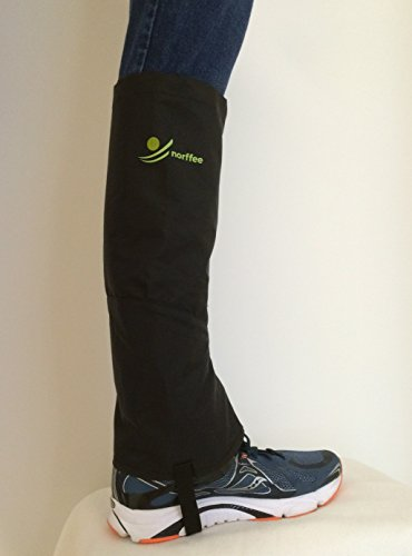 Leg Gaiters Ideal for Hiking, Climbing and Outdoor Activities. Easy to Use