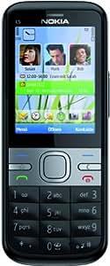 Nokia C5 Smartphone (5,6 cm (2,2 Zoll) Display, Bluetooth, 3,2 Megapixel Kamera) schwarz