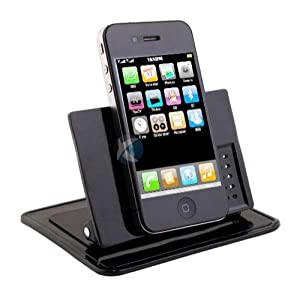 Xenda Universal Rotating Dash Smart Stand Car, Desk, Desktop Mount Dashboard Holder with Sticky Mats for Cell Phones, Smartphones, GPS Devices, iPhone, iPod from Xenda