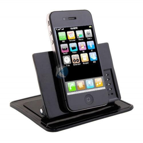 Xenda Universal Rotating Dash Smart Stand Car Mount Dashboard Holder with Sticky Mats for T-Mobile MyTouch 3G Fender SE, T-Mobile Vivacity, T-Mobile myTouch 3G Slide (3g Slide Mat compare prices)