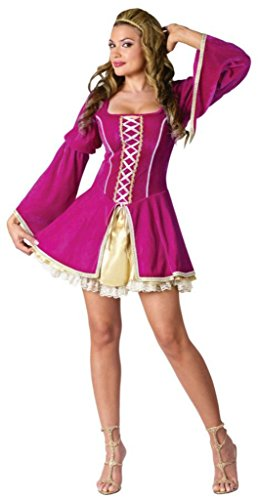 Funworld Womens Historic Guenevere Sexy Renaissance Fancy Halloween Costume