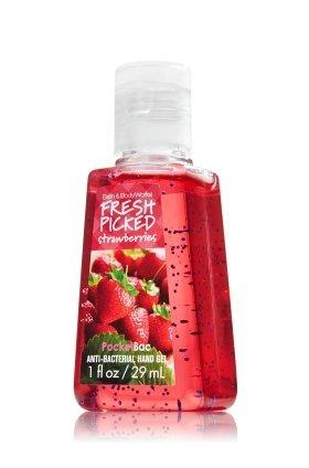 バス&ボディワークス フレッシュストロベリー 抗菌ハンドジェル 29ml Fresh Strawberries Antiーbacterial Pocket Bac Hand Gel