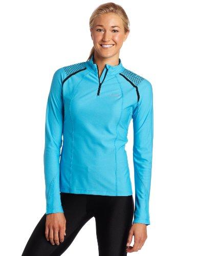 Buy Low Price Gore Running Wear Women's X-Running Zip Long Lady Shirt (SXRUNW)