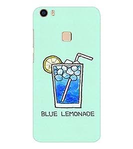 EPICCASE Blue Lemonade Mobile Back Case Cover For Vivo V3 Max (Designer Case)