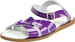 Salt Water Sandals by Hoy Shoe Original Sandal (Toddler/Little Kid/Big Kid/Women\'s),Shiny Purple,3 M US Infant