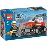 Lego City Fire Car 7241
