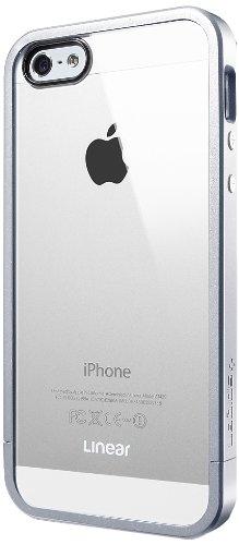 国内正規品SPIGEN SGP iPhone5/5S ケース リニア クリスタルシリーズ [サテンシルバー] SGP10046