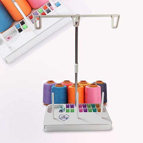 Embroidery Thread Spool Holder Stand Sewing Machine Accessories three spool thread stand