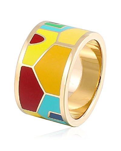 ROSE SALOME JEWELS Ring R008L vergoldeter Stahl 18 Karat