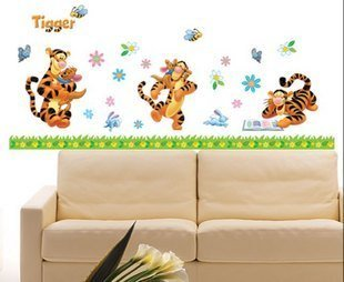 Baby Tigger Nursery Kids Wall Decoration Decal Sticker