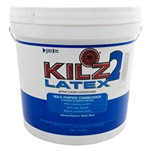 Kilz 2 2 Gal White Water Based Latex Multi Surface Interior Exterior Primer Sealer And Stain