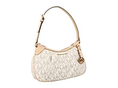 Michael Michael Kors Medium Jet Set Signature Pvc Shoulder Bag 83