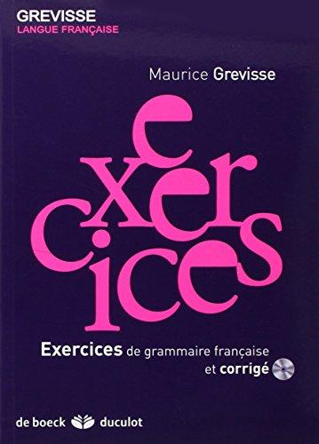 Exercices de grammaire francaise (French Edition)