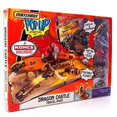 Matchbox Pop Up Adventure Set Dragon Castle Travel Pack - Buy Matchbox Pop Up Adventure Set Dragon Castle Travel Pack - Purchase Matchbox Pop Up Adventure Set Dragon Castle Travel Pack (Mattel, Toys & Games,Categories,Play Vehicles,Vehicle Playsets)