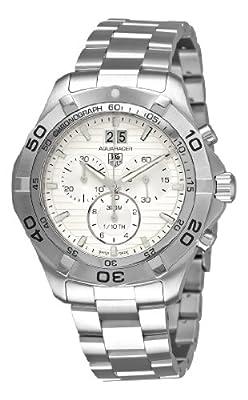 TAG Heuer Men's CAF101F.BA0821 Aquaracer Quartz Silver Chronograph Dial Watch by TAG Heuer