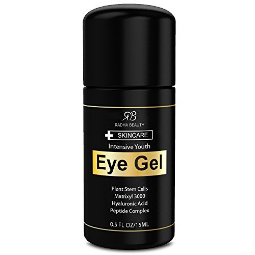 Eye Cream for Puffiness, Dark Circles, Wrinkles & Bags - The most effective eye gel for every eye concern - All Natural Ingredients - 0.5 fl oz (Cream Under The Eye compare prices)