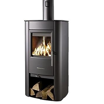 koppe kaminofen baro 7 kw kohle holz scheitholz ofen kamin da823. Black Bedroom Furniture Sets. Home Design Ideas
