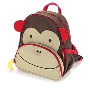 Skip Hop Zoo Pack Little Kid Backpack, Monkey