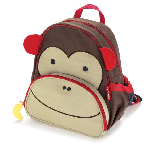 Best Review Of Skip Hop Zoo Pack Little Kid Backpack, Monkey