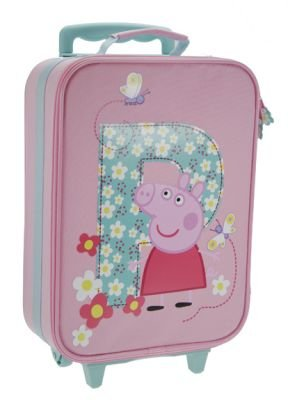 Trade Mark Collections P is for Peppa Pig Boxed Wheeled Bag by Trade Mark Collections