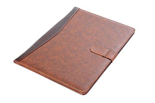 Pindi Manager portadocumenti padfolio di similpelle marrone con blocco per appunti DCH 04 02 DE PDF