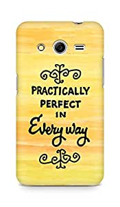 AMEZ practically perfect in every way Back Cover For Samsung Galaxy Core 2