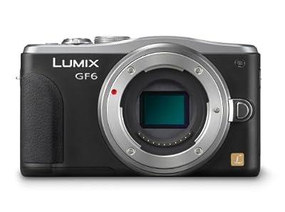 Panasonic DMC-GF6KK 16MP Mirrorless Mirrorless Digital Camera with Lens Kit from Panasonic