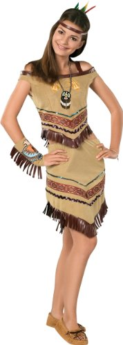 Native American Indian Princess Teen Size (2-6)