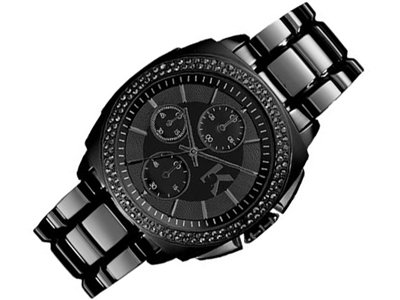 Karl Lagerfeld KL1602 Chronograph Black With BlackCrystal Ion-Plated