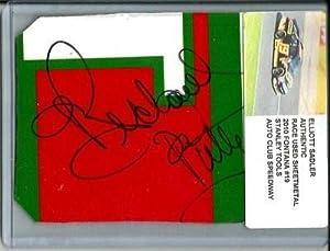 Richard Petty Signed Elliott Sadler STANLEY Nascar Race Used Sheetmetal Piece -... by Sports Memorabilia