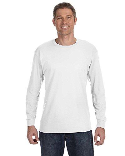 hanes-tagless-61-long-sleeve-t-shirt-large-white