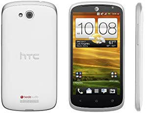 HTC One VX White 4G LTE Andoid No Warranty AT&T Logo - Unlocked Cell Phone [Carrier Retail Packaging]