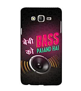Baby ko Bass Pasand Hai 3D Hard Polycarbonate Designer Back Case Cover for Samsung Galaxy On7 :: Samsung Galaxy On 7 G600FY