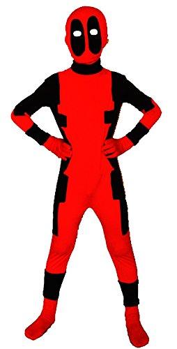 Unisex Lycra Spandex Zentai Halloween Kids Costumes