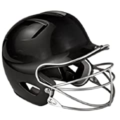 Buy Easton Natural Senior Batting Helmet with Mask, Black by Easton
