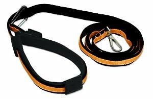Kurgo Quantum 6-in-1 Dog Leash, Black