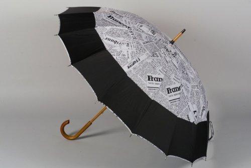 Stockschirm Zeitung s/w 63cm jetzt kaufen