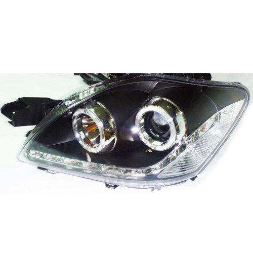 2007-2009 Toyota Yaris Vios Sedan Head Light Lamp Projector Led Engle Eye Lh+Rh ******* Not For Usa & Canada ********